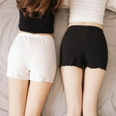 薄款安全褲防走光夏外穿女白色大碼三分內穿打底褲防狼保險褲短褲