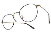NINE ACCORD 光學眼鏡 PLACO FL1 C02 (琥珀棕-銅) 文青風極簡款 圓框眼鏡 # 金橘眼鏡