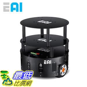 [106玉山最低比價網] 機器人底盤 服務機器人移動平臺 ROS開發 智能導航小車EAI Dashgo