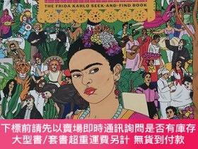 二手書博民逛書店Find罕見Frida the frida kahlo seek - and find book尋找弗裏達Y1