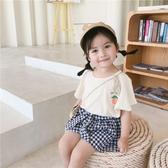 小女童短袖T恤夏裝新款嬰兒童純棉半袖男寶寶韓版洋氣上衣季 米希美衣