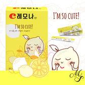 韓國 LEMONA 維他命C粉(可愛檸檬捧臉版) 紙盒(10條)【Miss.Sugar】【C000113】