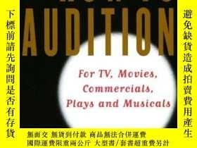 二手書博民逛書店How罕見To AuditionY255562 Hunt, Gordon Harpercollins 出版1