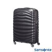 Samsonite 新秀麗 30吋LITE-SHOCK 極輕CURV 四輪拉桿頂級硬殼箱(黑色)