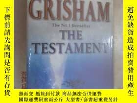 二手書博民逛書店外文書罕見THE TESTAMENT(共473頁,32開)Y15969