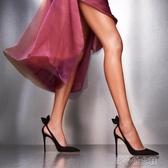 裸色高跟鞋女細跟性感女神法式超淺口尖頭黑色百搭少女 『洛小仙女鞋』