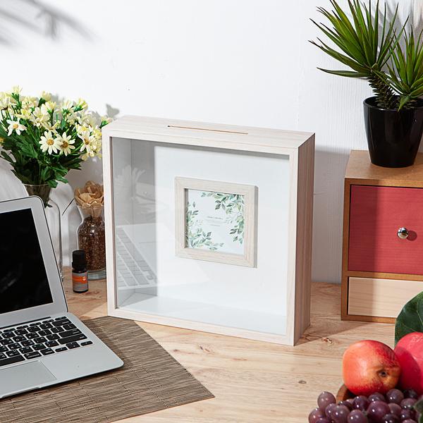 木質小調方形展示盒-生活工場