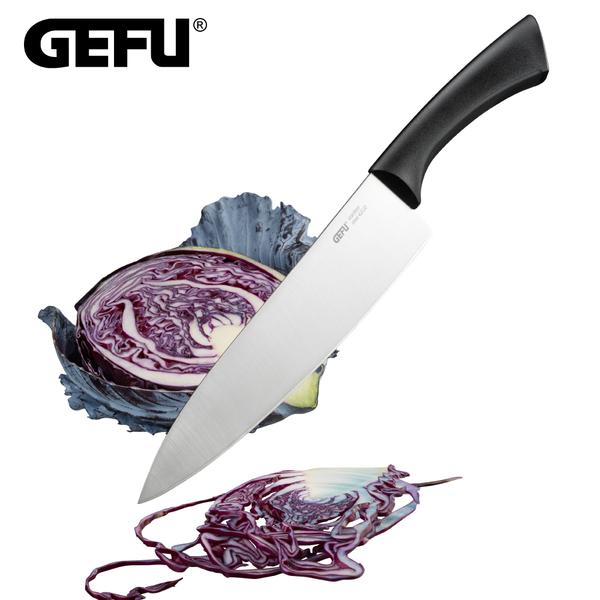 【GEFU】德國品牌不鏽鋼主廚刀-21cm