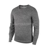 Nike T恤 Pacer Top 灰 男款 跑步 快速吸汗排汗 長袖上衣 運動服【PUMP306】 BV4754-068