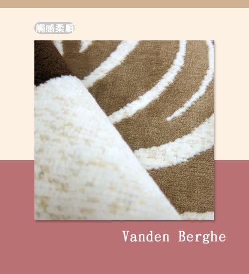 范登伯格 圓舞曲 柔豔花賞絲質地毯 踏墊-50x70cm