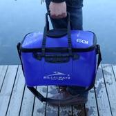 折疊桶  比爾傲威EVA加厚活魚桶折疊釣魚桶釣箱釣魚箱打水桶魚護【雙十二快速出貨八折】