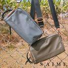 斜背包-中性尼龍2way小方包 側背包 肩背 隨身 小包 包包 【SBG29-A260S】S'AIME東京企劃