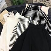 衛生衣 2019秋裝ins新款上衣內搭洋氣打底衫女秋冬外穿寬鬆長袖衛生衣t恤潮 果寶時尚