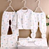 初生寶寶衣服純棉新生兒衣服0-3月嬰兒套裝用品滿月禮盒igo 沸點奇跡