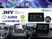 【JHY】2018年TOYOTA AURIS 專用10吋螢幕M3系列安卓多媒體主機*雙聲控+藍芽+導航+安卓