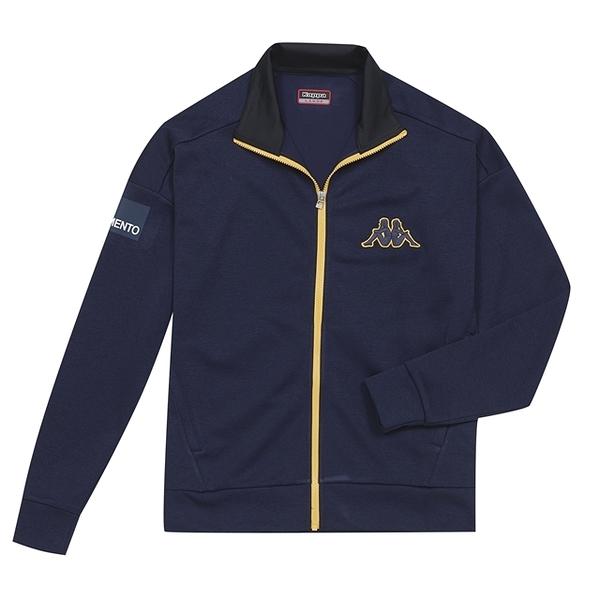 KAPPA義大利時尚型男運動針織外套~丈青3114DUWB29