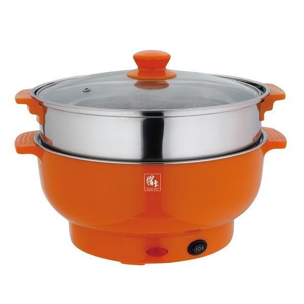 【中彰投電器】鍋寶(3.5L)不鏽鋼多功能料理鍋,EC-350-D【全館刷卡分期+免運費】