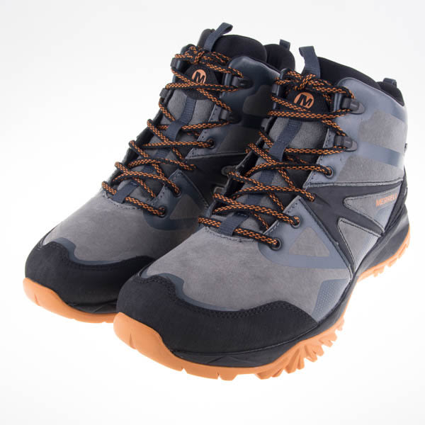 6折出清~MERRELL  CAPRA BOLT  男高筒戶外登山鞋-灰 ML35805