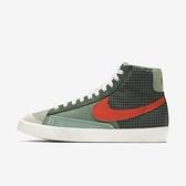 Nike Blazer Mid 77 [DD1162-300] 男鞋 運動 休閒 經典 復古 中筒 穿搭 綠 橘