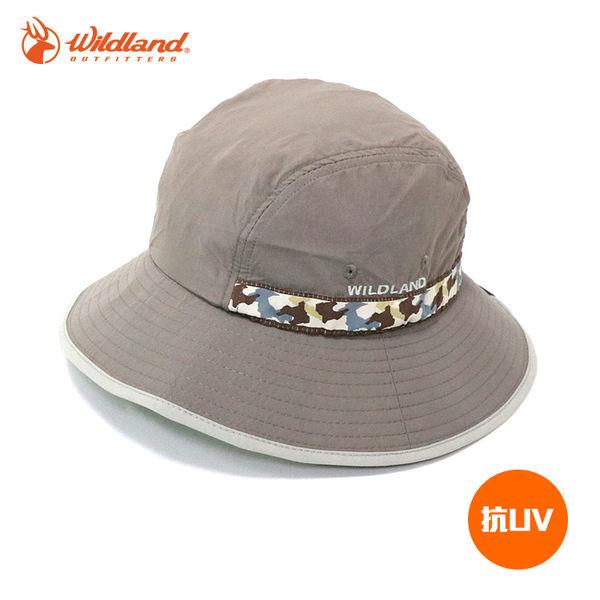 Wildland 中性織帶抗UV圓盤帽W1010 / 城市綠洲 (UPF30+.防曬.防紫外線.機能帽.吸濕快乾透氣)