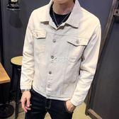 牛仔外套 新款男韓版帥氣學生休閒夾克男裝修身上衣服褂潮流 俏腳丫