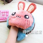 (交換禮物)冬季天辦公室usb電發熱加溫游戲用可愛創意護腕保暖手寶托滑鼠墊
