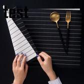 華清 餐墊歐式PVC西餐隔熱墊長方形日式簡約餐桌墊杯墊碗墊盤墊子 年貨慶典 限時鉅惠