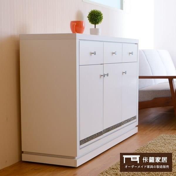 【佧蘿家居館】純白典雅 廚櫃 櫥櫃 置物櫃 開放式 收納架 置物架 收納櫃 (82CM)【C0300】