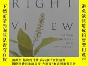 二手書博民逛書店the罕見right viewY2670 khenpo tsul