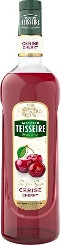 Teisseire 糖漿果露-櫻桃風味Cherry Syrup 法國頂級天然糖漿 700ml-【良鎂咖啡精品館】