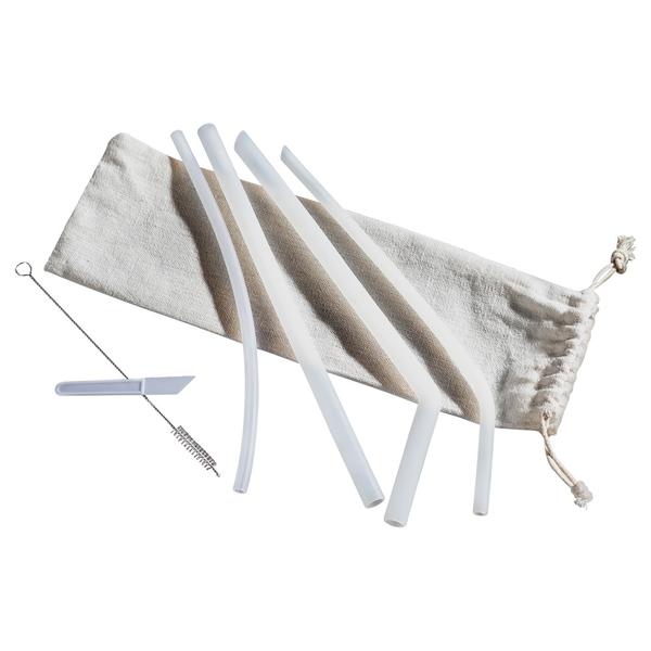 吸管 環保吸管 矽膠吸管-7件組 可彎折環保【G048】旺寶百貨