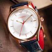 EMPORIO ARMANI 亞曼尼 AR11131 休閒簡約紳士精品錶 熱賣中!