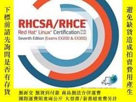 二手書博民逛書店Rhcsa rhce罕見Red Hat Linux Certification Study Guide, Seve