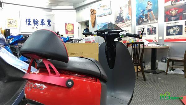 機車兄弟【CL gogoro 後靠背】(高型)