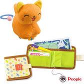 【奇買親子購物網】日本People 快跑小小喵/新寶寶錢包玩具