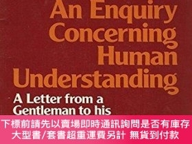 二手書博民逛書店An罕見Enquiry Concerning Human UnderstandingY255174 David