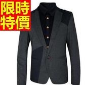 西裝外套 男西服(單外套)-明星同款日系熱銷焦點5色59t30【巴黎精品】