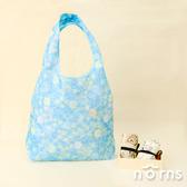 日貨折疊式環保購物袋鬆緊帶款 角落生物v2- Norns 日本進口手提袋 環保袋 Eco bag