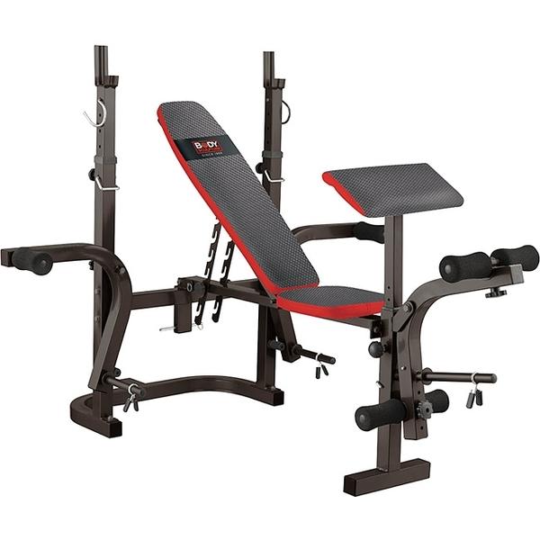 多功能折疊舉重床.深蹲架舉重架.啞鈴椅舉重椅.重力舉重量訓練機專賣店【BODY SCULPTURE】