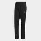 Adidas FUTURE ICONS 男裝 長褲 套裝 鬆緊 休閒 平織 拉鍊口袋 黑【運動世界】HA6569