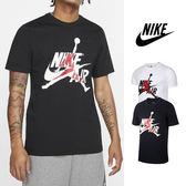 【GT】Nike Air Jordan 黑白 短袖T恤 喬丹 純棉 運動 休閒 印花 上衣 短T Logo
