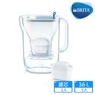【BRITA】Style純淨濾水壺(藍色)