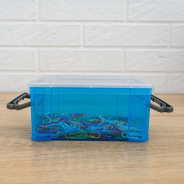 置物箱/整理盒/塑膠盒  收納焦點 掀蓋式 2號收納箱-六入 dayneeds