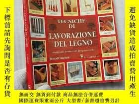 二手書博民逛書店TECNICHE罕見DI LAVORAZIONE DEL LEG