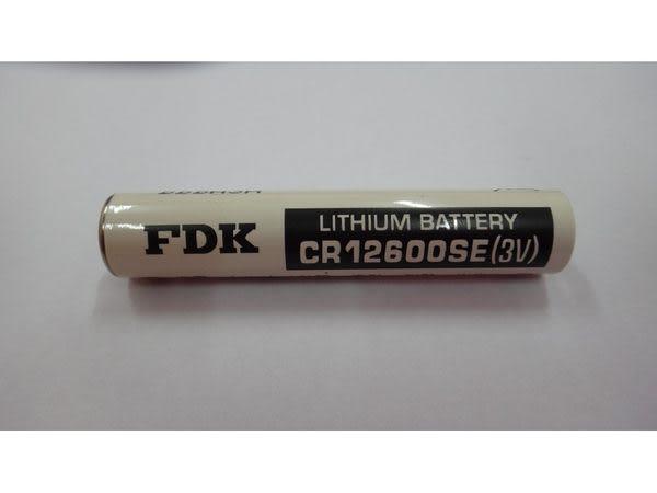 全館免運費【電池天地】一次性鋰電池 FDK CR12600SE 3V 電池