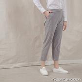 【GIORDANO】女裝垂墜風休閒褲 - 11 灰X粉紅