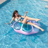 透明水母泳圈 125CM 泳具 水上充氣 造型泳圈 游泳圈 度假 游泳 拍照道具 網美直播小物