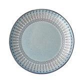 尾牙年貨節創意歐式浮雕灰色復古盤子家用西餐盤飯碗面碗餐廳碗盤餐具套裝gogo購
