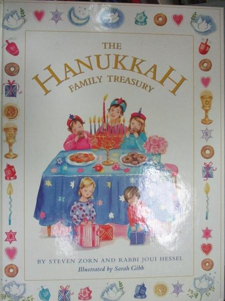 【書寶二手書T5/少年童書_ZIH】The Hanukkah Family Treasury_Zorn, Steve/ Hessel, Joui/ Gibb, Sarah