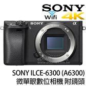 SONY a6300 附 SIGMA MC-11 + 18-35mm ART (24期0利率 免運 公司貨) E-mount 微單眼數位相機 支援 4K WIFI